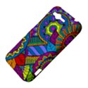 Pop Art Paisley Flowers Ornaments Multicolored HTC Rhyme View4