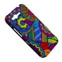 Pop Art Paisley Flowers Ornaments Multicolored HTC Rhyme View5