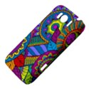 Pop Art Paisley Flowers Ornaments Multicolored HTC Sensation XL Hardshell Case View4