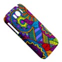 Pop Art Paisley Flowers Ornaments Multicolored HTC Sensation XL Hardshell Case View5