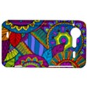 Pop Art Paisley Flowers Ornaments Multicolored HTC Incredible S Hardshell Case  View1