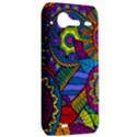 Pop Art Paisley Flowers Ornaments Multicolored HTC Incredible S Hardshell Case  View2