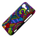 Pop Art Paisley Flowers Ornaments Multicolored HTC Incredible S Hardshell Case  View4
