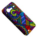 Pop Art Paisley Flowers Ornaments Multicolored HTC Incredible S Hardshell Case  View5