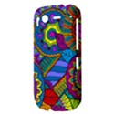 Pop Art Paisley Flowers Ornaments Multicolored HTC Desire S Hardshell Case View3