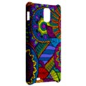 Pop Art Paisley Flowers Ornaments Multicolored Samsung Infuse 4G Hardshell Case  View2
