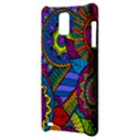 Pop Art Paisley Flowers Ornaments Multicolored Samsung Infuse 4G Hardshell Case  View3