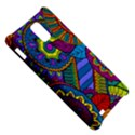 Pop Art Paisley Flowers Ornaments Multicolored Samsung Infuse 4G Hardshell Case  View5