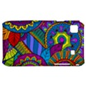 Pop Art Paisley Flowers Ornaments Multicolored Samsung Galaxy S i9000 Hardshell Case  View1