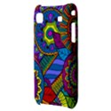 Pop Art Paisley Flowers Ornaments Multicolored Samsung Galaxy S i9000 Hardshell Case  View3