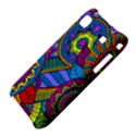 Pop Art Paisley Flowers Ornaments Multicolored Samsung Galaxy S i9000 Hardshell Case  View4