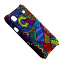 Pop Art Paisley Flowers Ornaments Multicolored Samsung Galaxy S i9000 Hardshell Case  View5