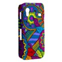 Pop Art Paisley Flowers Ornaments Multicolored Samsung Galaxy Ace S5830 Hardshell Case  View2