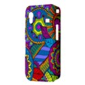 Pop Art Paisley Flowers Ornaments Multicolored Samsung Galaxy Ace S5830 Hardshell Case  View3