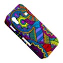 Pop Art Paisley Flowers Ornaments Multicolored Samsung Galaxy Ace S5830 Hardshell Case  View5