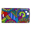 Pop Art Paisley Flowers Ornaments Multicolored Sony Xperia Arc View1