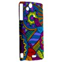 Pop Art Paisley Flowers Ornaments Multicolored Sony Xperia Arc View2