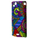 Pop Art Paisley Flowers Ornaments Multicolored Sony Xperia Arc View3