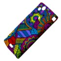 Pop Art Paisley Flowers Ornaments Multicolored Sony Xperia Arc View4
