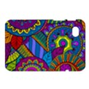Pop Art Paisley Flowers Ornaments Multicolored Samsung Galaxy Tab 7  P1000 Hardshell Case  View1
