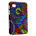 Pop Art Paisley Flowers Ornaments Multicolored Samsung Galaxy Tab 7  P1000 Hardshell Case  View2