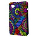 Pop Art Paisley Flowers Ornaments Multicolored Samsung Galaxy Tab 7  P1000 Hardshell Case  View3