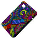 Pop Art Paisley Flowers Ornaments Multicolored Samsung Galaxy Tab 7  P1000 Hardshell Case  View4