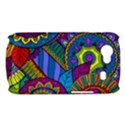 Pop Art Paisley Flowers Ornaments Multicolored Samsung Galaxy Nexus S i9020 Hardshell Case View1