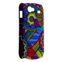 Pop Art Paisley Flowers Ornaments Multicolored Samsung Galaxy Nexus S i9020 Hardshell Case View2