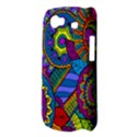 Pop Art Paisley Flowers Ornaments Multicolored Samsung Galaxy Nexus S i9020 Hardshell Case View3