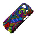 Pop Art Paisley Flowers Ornaments Multicolored Samsung Galaxy Nexus S i9020 Hardshell Case View4