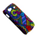Pop Art Paisley Flowers Ornaments Multicolored Samsung Galaxy Nexus S i9020 Hardshell Case View5