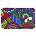 Pop Art Paisley Flowers Ornaments Multicolored Samsung S3350 Hardshell Case View1