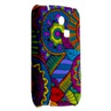 Pop Art Paisley Flowers Ornaments Multicolored Samsung S3350 Hardshell Case View2