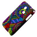 Pop Art Paisley Flowers Ornaments Multicolored Samsung S3350 Hardshell Case View4