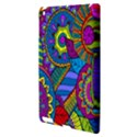 Pop Art Paisley Flowers Ornaments Multicolored Apple iPad 3/4 Hardshell Case View3