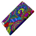 Pop Art Paisley Flowers Ornaments Multicolored Apple iPad 3/4 Hardshell Case View4
