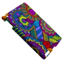 Pop Art Paisley Flowers Ornaments Multicolored Apple iPad 3/4 Hardshell Case View5