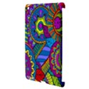 Pop Art Paisley Flowers Ornaments Multicolored Apple iPad 3/4 Hardshell Case (Compatible with Smart Cover) View3