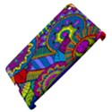 Pop Art Paisley Flowers Ornaments Multicolored Apple iPad 3/4 Hardshell Case (Compatible with Smart Cover) View4