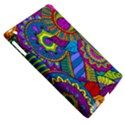 Pop Art Paisley Flowers Ornaments Multicolored Apple iPad 3/4 Hardshell Case (Compatible with Smart Cover) View5