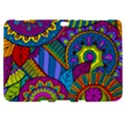 Pop Art Paisley Flowers Ornaments Multicolored Samsung Galaxy Tab 8.9  P7300 Hardshell Case  View1