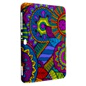 Pop Art Paisley Flowers Ornaments Multicolored Samsung Galaxy Tab 8.9  P7300 Hardshell Case  View2