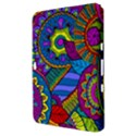 Pop Art Paisley Flowers Ornaments Multicolored Samsung Galaxy Tab 8.9  P7300 Hardshell Case  View3