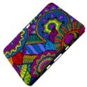 Pop Art Paisley Flowers Ornaments Multicolored Samsung Galaxy Tab 8.9  P7300 Hardshell Case  View4