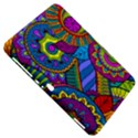 Pop Art Paisley Flowers Ornaments Multicolored Samsung Galaxy Tab 8.9  P7300 Hardshell Case  View5
