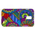 Pop Art Paisley Flowers Ornaments Multicolored Samsung Galaxy S II Skyrocket Hardshell Case View1