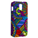 Pop Art Paisley Flowers Ornaments Multicolored Samsung Galaxy S II Skyrocket Hardshell Case View2
