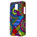 Pop Art Paisley Flowers Ornaments Multicolored Samsung Galaxy S II Skyrocket Hardshell Case View3
