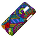 Pop Art Paisley Flowers Ornaments Multicolored Samsung Galaxy S II Skyrocket Hardshell Case View4